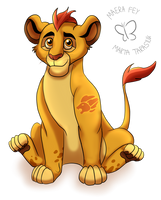 Daily Drawing #3: Kion by MaeraFey
