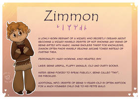 The Cast of DD:  Zimmy by MaeraFey