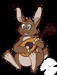 A Musical Bunny by MaeraFey