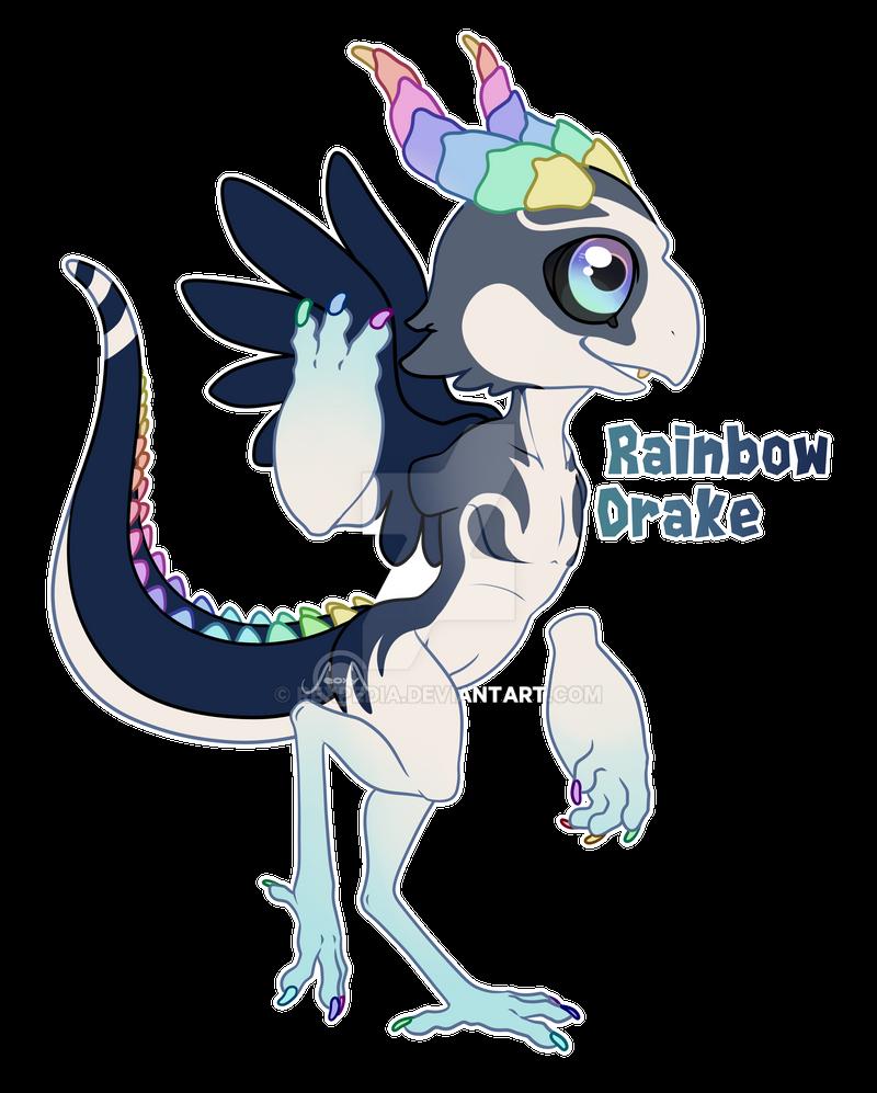 Rainbow Drake by Rexpedia