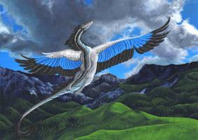 Wide skies by ElorenArt
