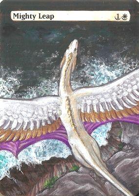 Mighty Leap by ElorenArt