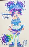Hydrangea Hana Imp Adopt OTA SOLD