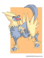 Manectric by ashmish