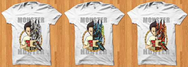 Hunter's Life T-Shirt by ashmish