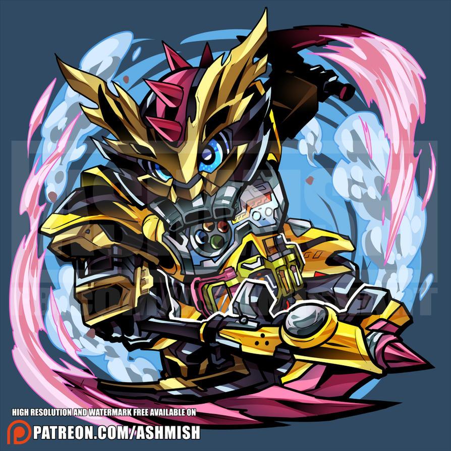 Kamen Rider Lazer Level 3 by ashmish