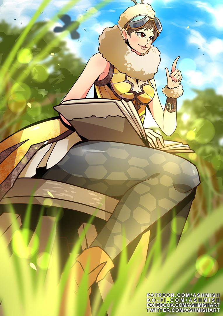Monster Hunter World Handler Spring Costume By Ashmish On Deviantart