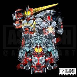 Kamen Rider Faiz Evolution