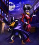 Darkwing and Morgana
