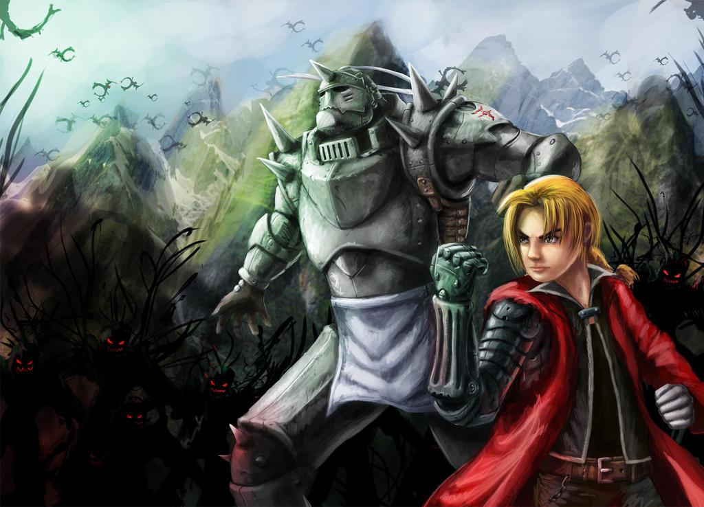 Fullmetal Alchemist, Fanart by gbrsou on DeviantArt