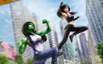 X-23 She-Hulk