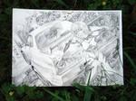 Ayanami Rei  Eva pencil skeching 004
