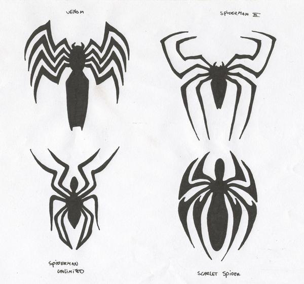 spiderman logo 39 s by carnivac on deviantart. Black Bedroom Furniture Sets. Home Design Ideas