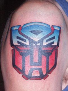 transformers tattoo by Carnivac