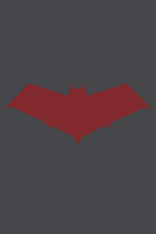 Red Hood Bat Symbol Wallpaper by MattDrum23