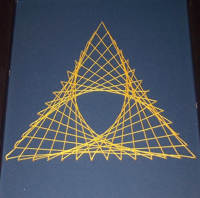 String Art - Triforce? by BarnOwl93 on DeviantArt
