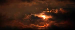 steaming sun