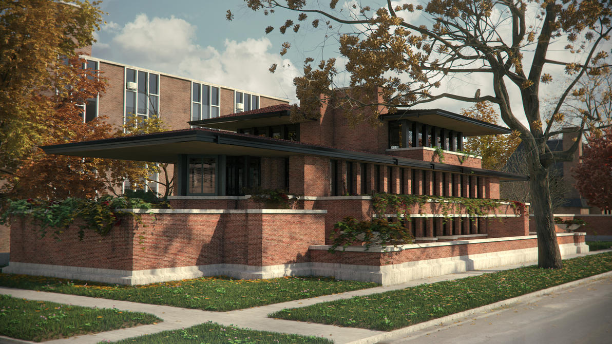 Robie house by 7y8i on deviantart for Home design chicago