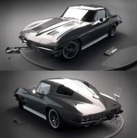 Chevrolet Corvette Sting Ray 1963 by 7y8i