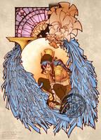 PE Art Nouveau Exchange: Sadie by rillystar
