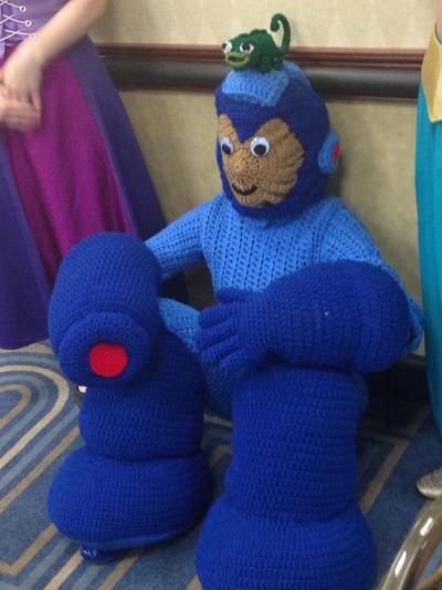 Crochet Megaman Costume By Nguyencraft On Deviantart