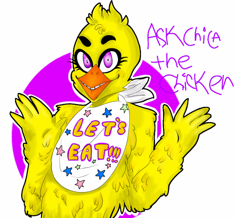 My Puffed Self As Toy Chica: Ask Chica The Chicken By AskChicaChicken On DeviantArt