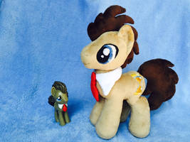 *FOR SALE* Doctor Whooves by EmbroideryMW101