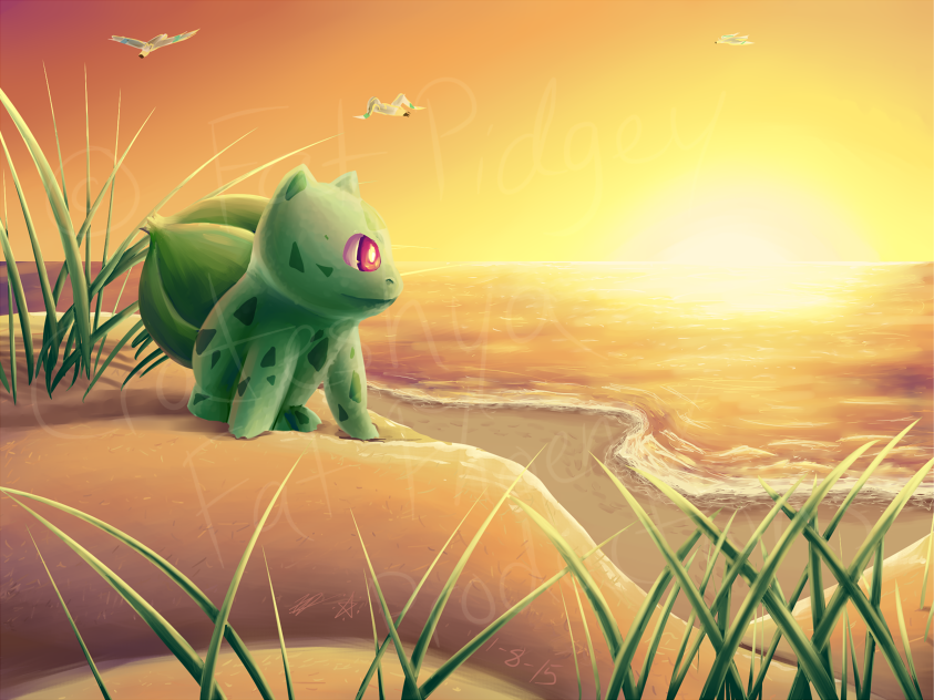 Sunset Stroll by crateshya