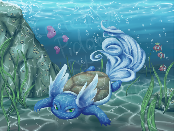 Dive To The Shallows by crateshya