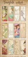 Fairytale artbook : previews by Chpi
