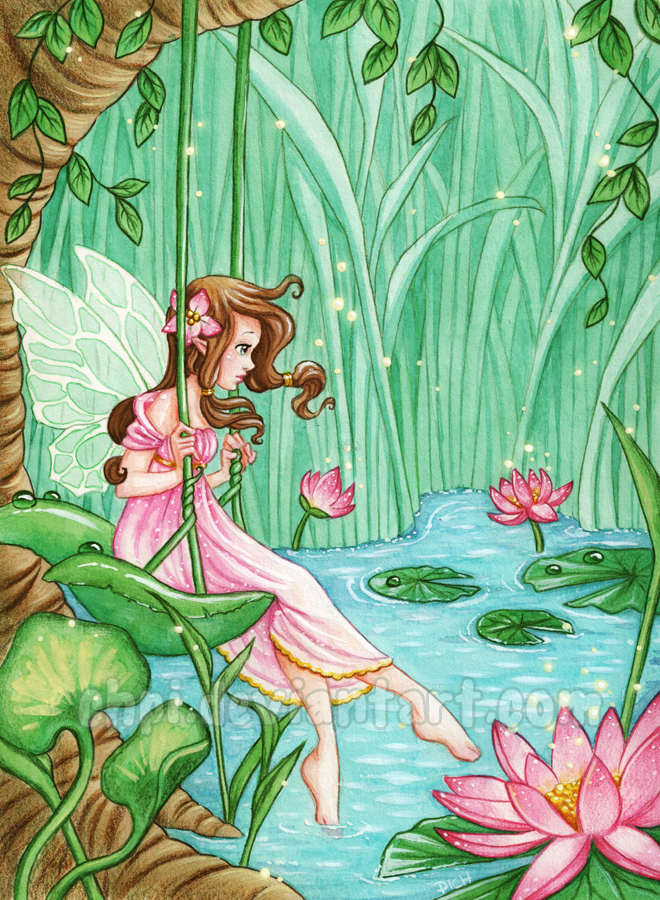Waterlily fairy by Chpi