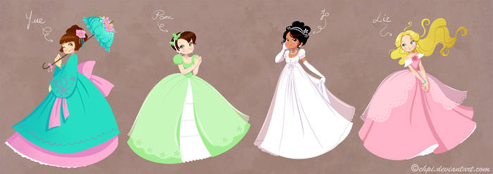 Little princesses by Chpi