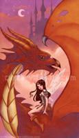 Dragon Fae by Chpi