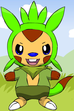 CASEY THE CHESPIN 2017 LOOK by Romulus907