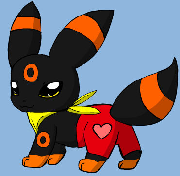 KIVA THE UMBREON NEW LOOK by Romulus907