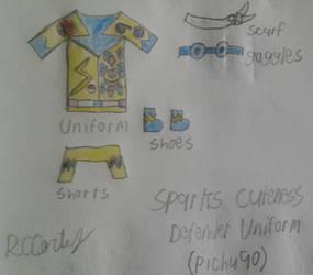 SPARK'S CUTENESS DEFENDER UNIFORM by Romulus907