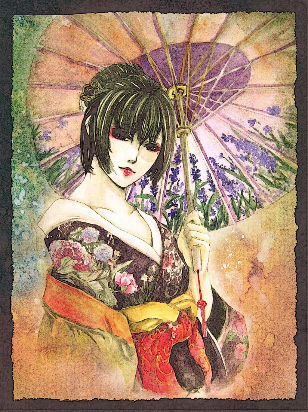 Kimono by earlpanda