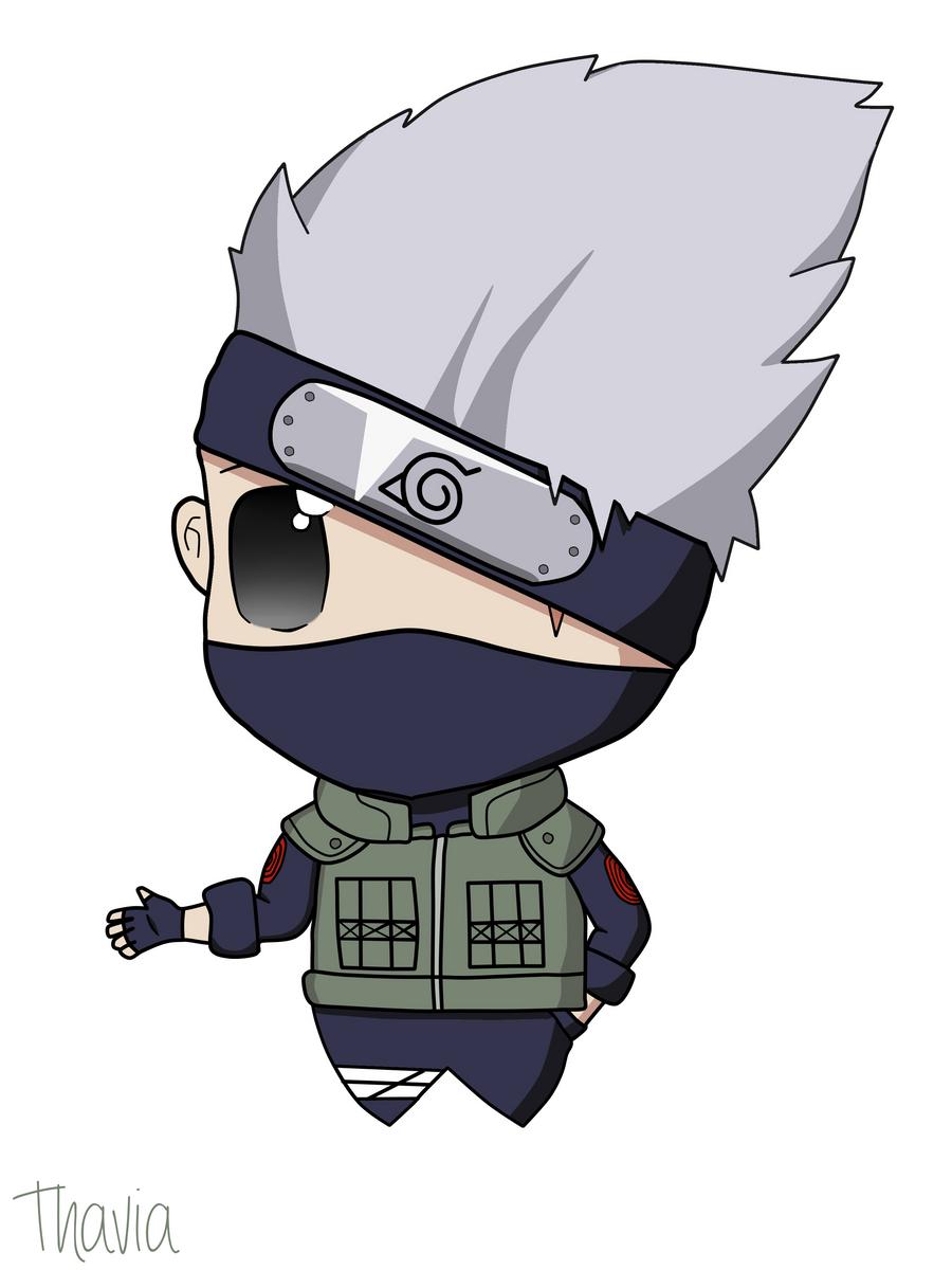Anime Chibi Naruto Kakashi