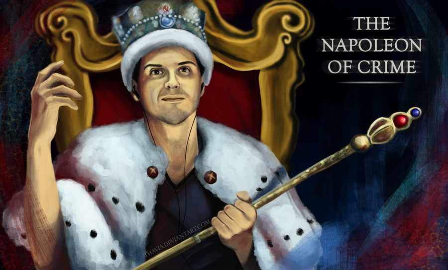 The Napoleon of Crime by Thavia