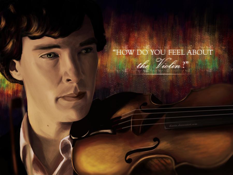 The Violin by Thavia