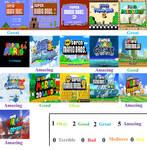 Super Mario Scorecard