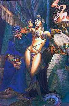 Olmec and Tascela