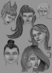 Digital Sketchbook by blood083