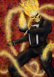Ghost Rider by blood083