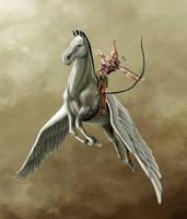 Pegasus Archer. by sonofangron