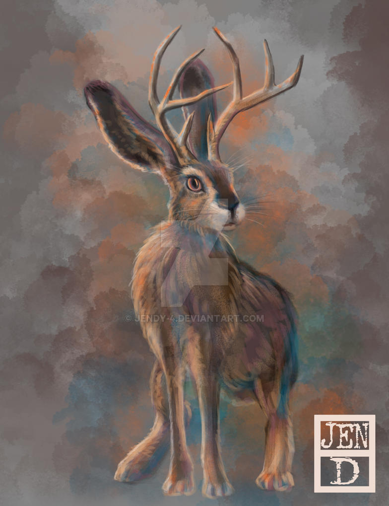 Jackalope by jendy-4