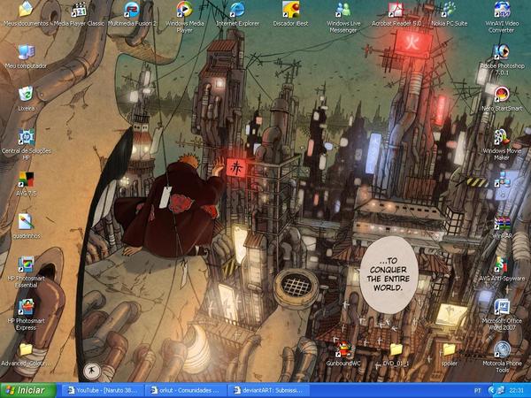 meu novo desktop