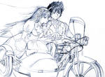 sketch - the wedding day