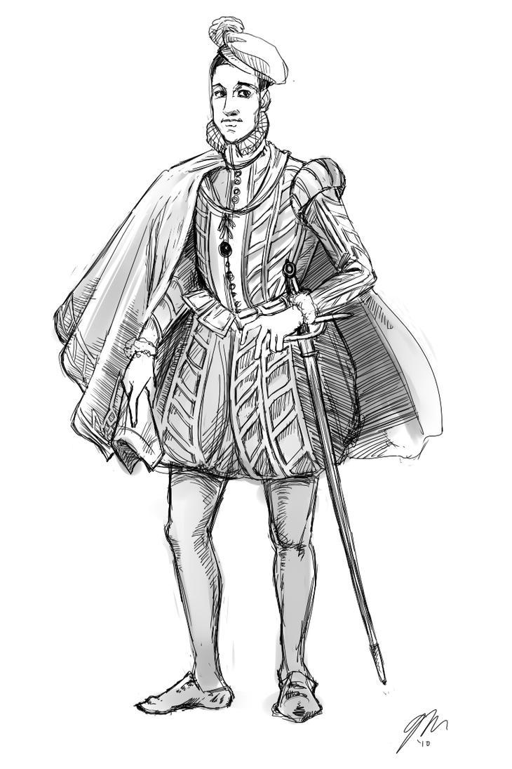 Th Century Northern Renaissance Fashion Men