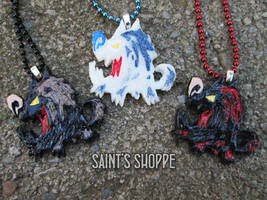 Hounds - Don't Starve (Together) Resin Charms by Saint-chan